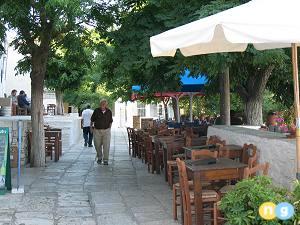 Apiranthos in Naxos Greece