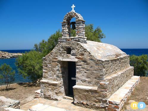 Church in Naxos Greece