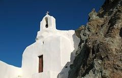 Churches in Naxos Greece