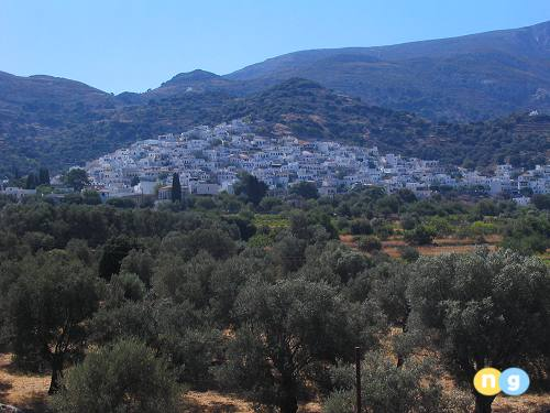 Villages in Naxos Greece