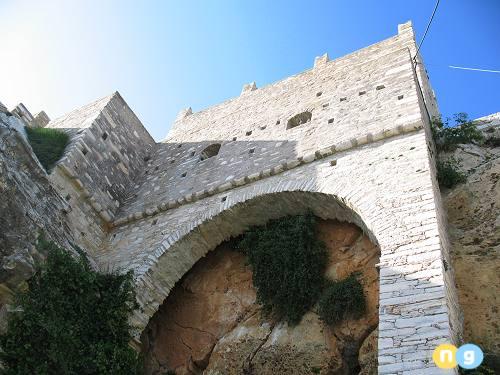 Zevgoli Tower in Apeiranthos
