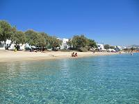 Agia Anna Beach in Naxos Greece