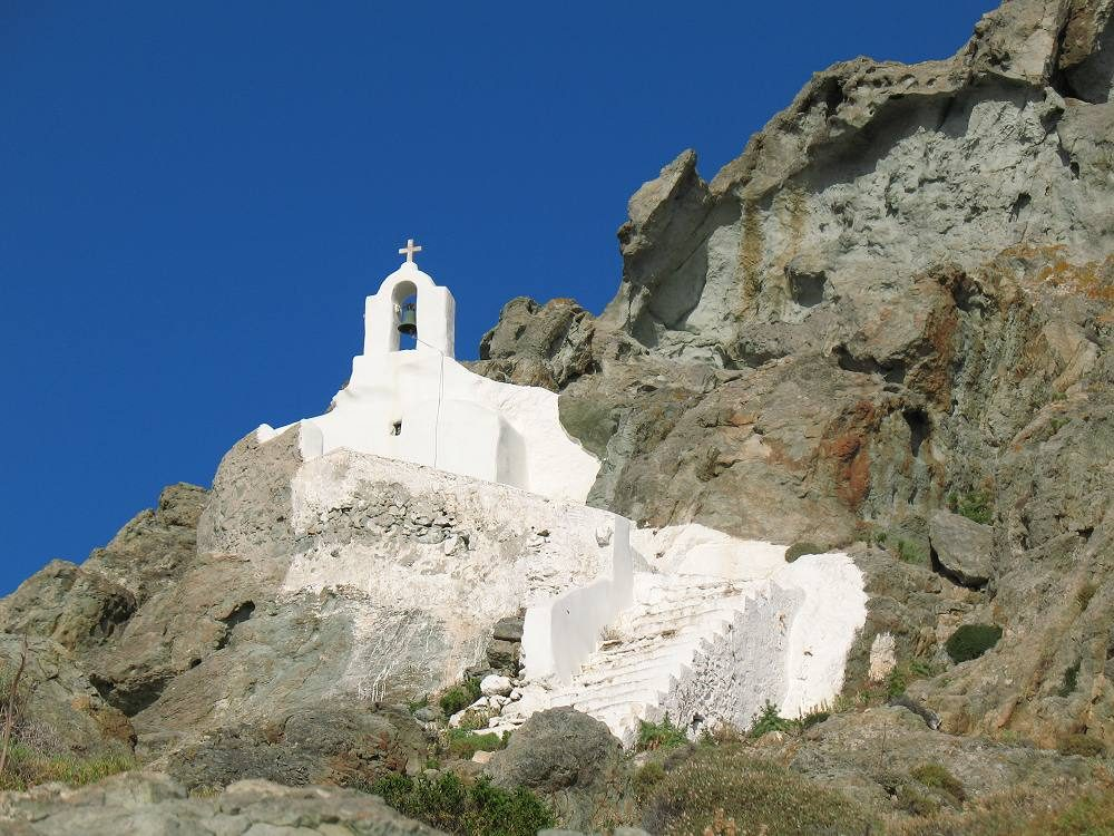Theologaki Chapel on Naxos Island
