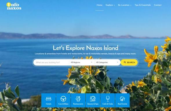 Naxos businness directory